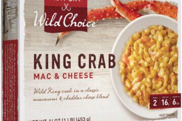 king crab mac and cheese