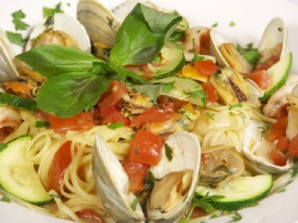 spicy linguine with clams recipe