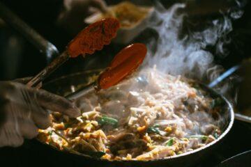 wonton seafood stir fry
