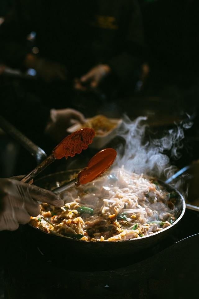 clam shrimp scallop fry
