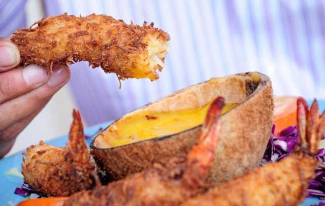 Camarones al Coco photo courtesy of Sectur Campeche
