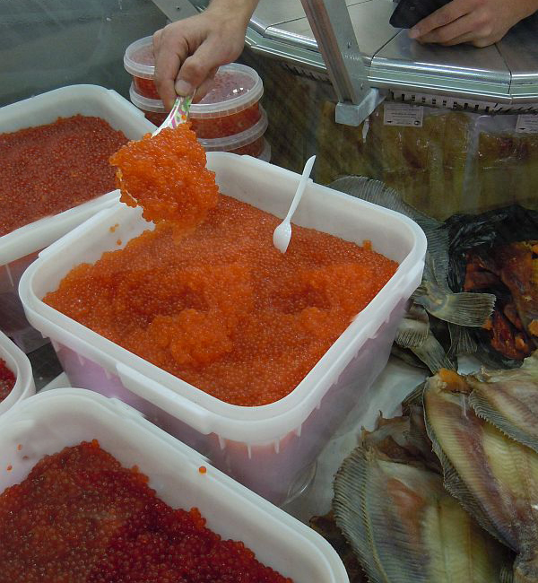 salmon caviar