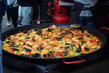 andalusian mixed paella recipe